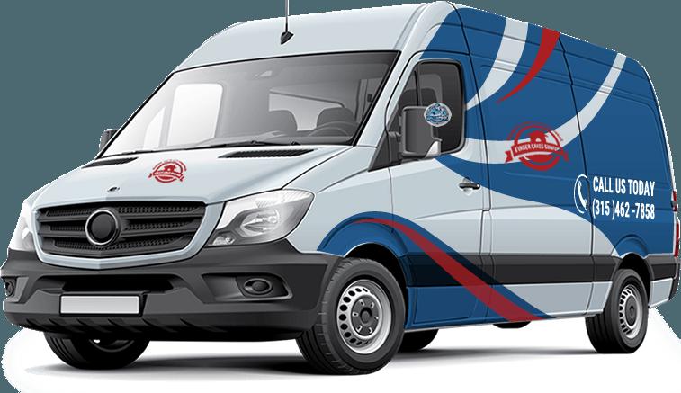 Finger Lakes Comfort van