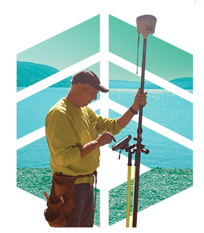 Decorative image for Marks Engineering's Land Surveying services