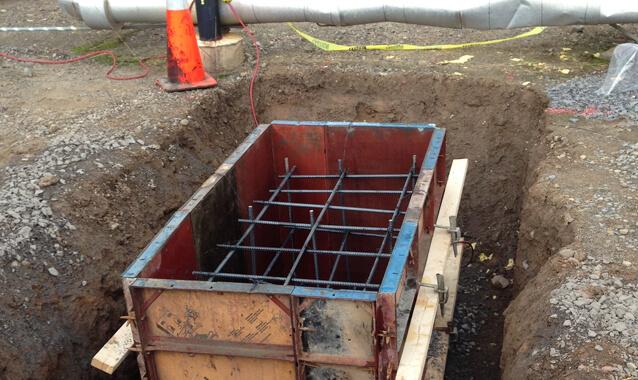 Concrete and excavating service photo